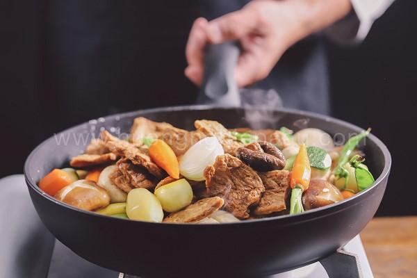 Bò Nấu Đậu Chay