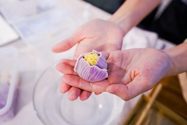Bánh wagashi thành phẩm