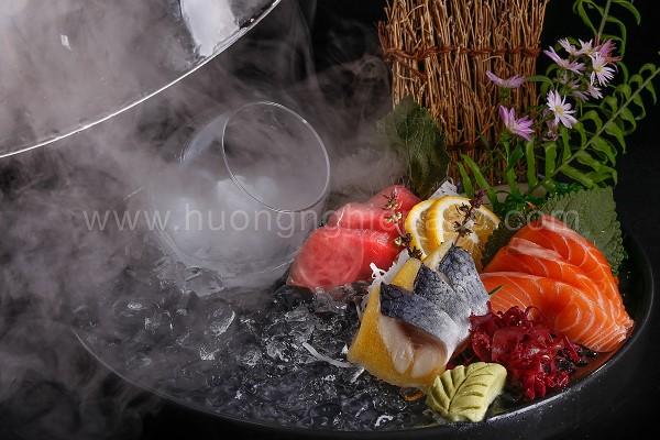Cách trình bày sashimi đẹp
