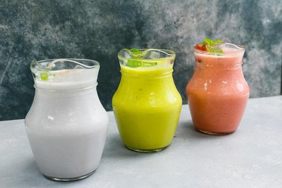 các loại sinh tố bổ dưỡng