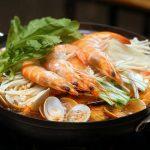 Lẩu kimchi hải sản