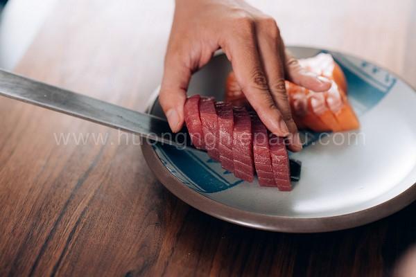 Thái lát cá ngừ