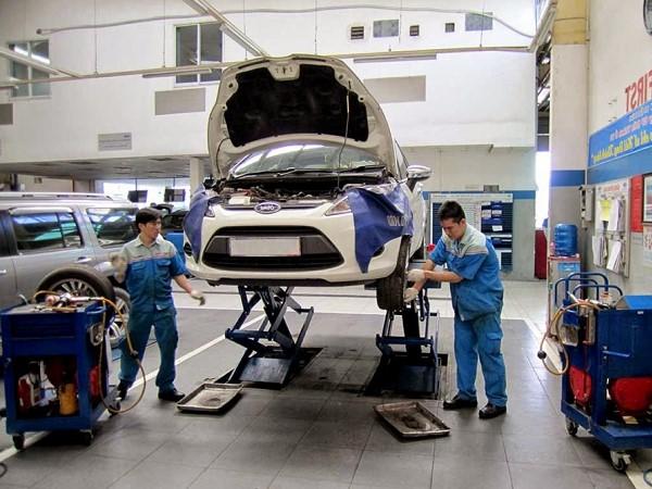 thực hành sửa chữa ô tô