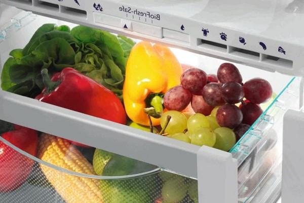 bảo quản trái cây trong hóc tủ lạnh