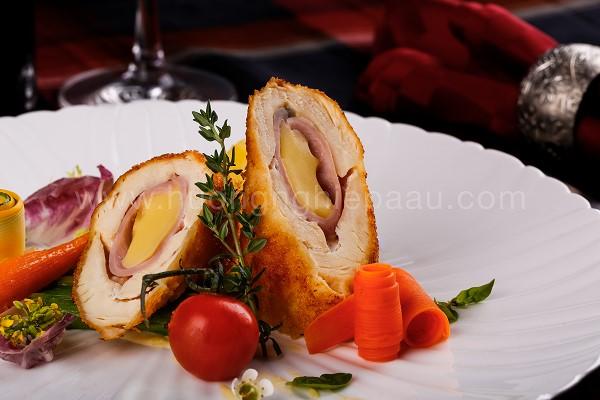 Gà cuộn phô mai