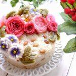 Một mẫu xôi hoa đậu đẹp