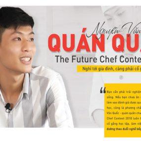 Nguyễn Văn Quốc Quán Quân The Futurer Chef Contest 2018