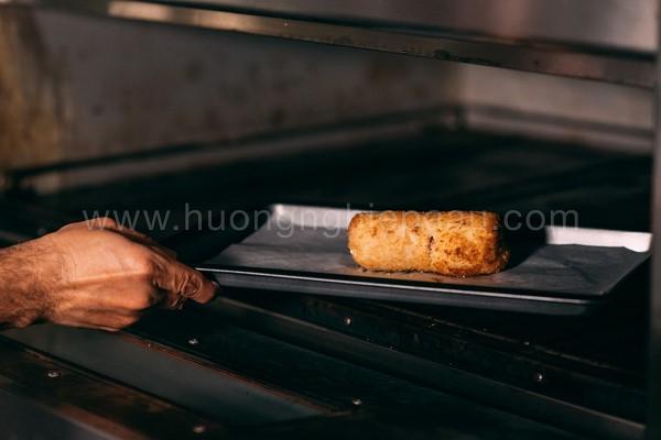 Nướng gà cuộn phô mai