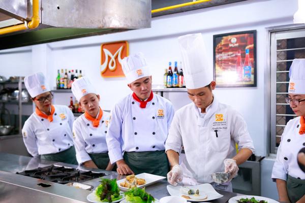 Trường dạy nghề nấu ăn ở tphcm