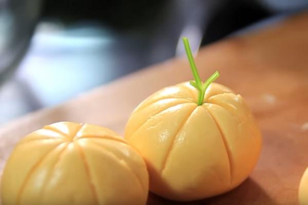 Bánh trôi có hình quả quýt
