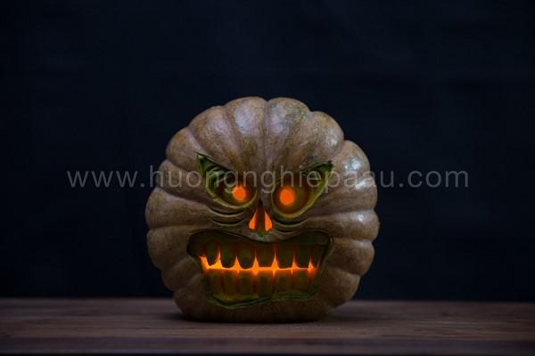 Cách Cắt Tỉa Bí Ngô Cho Halloween