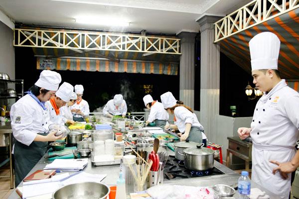 Lớp học nấu món chay
