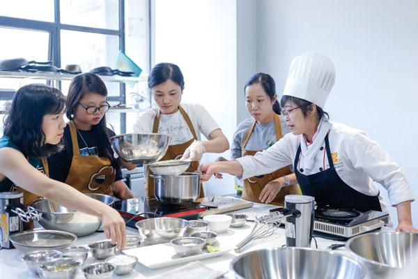 Lớp nấu ăn bếp gia đình