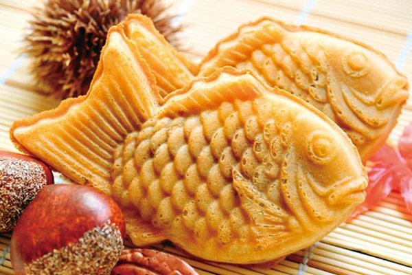 cách làm bánh cá Taiyaki