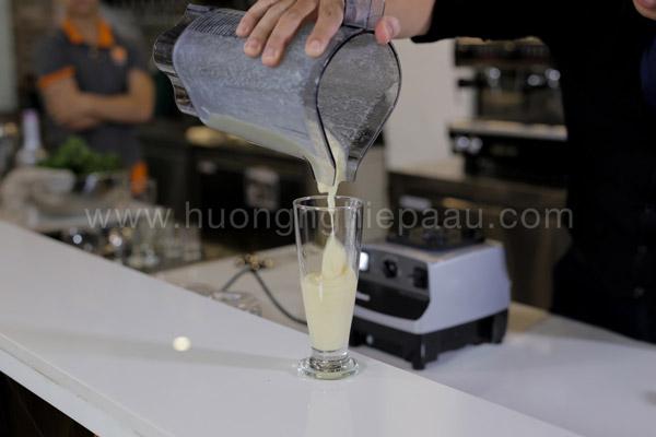 Cách xay smoothie chanh dây