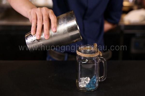 Hoàn thành trà sữa thạch phô mai
