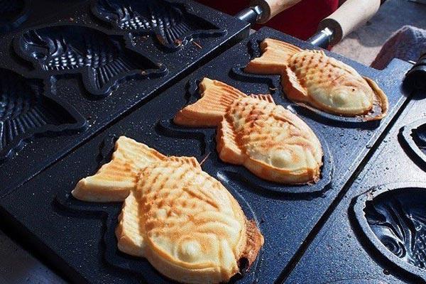 Nướng bánh đến khi vàng