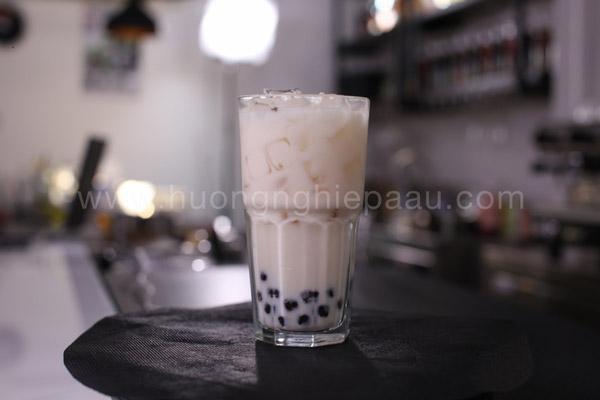 Trà sữa trân châu đen Hokkaido