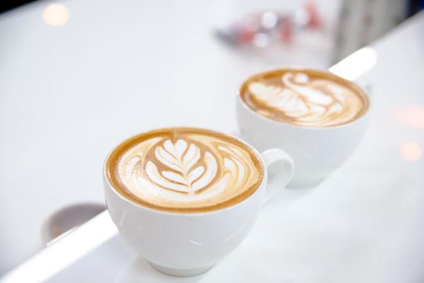 cà phê Latte art