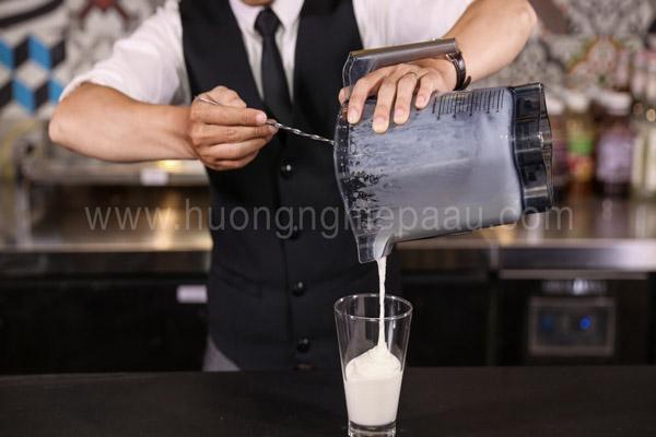 Hỗn hợp nước cốt dừa nhuyễn mịn