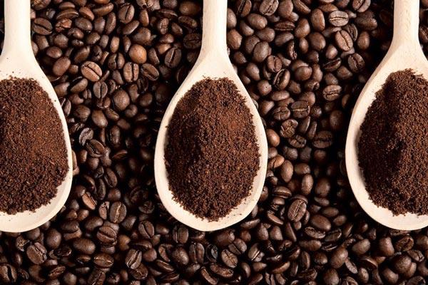 Sử dụng bột coffee nguyên chất