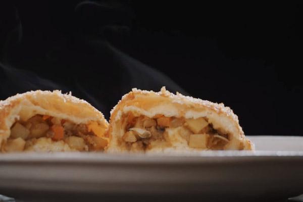 Bánh mì nhân cà ri