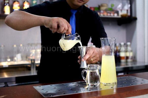 Lemon base, nước nền điều vị