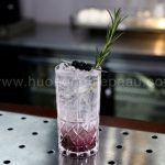 Mocktail Tropical Rosemary Blueberry