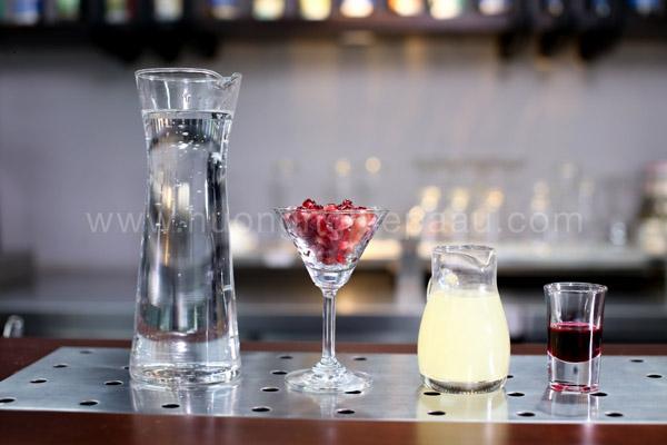 Nguyên liệu pha Mocktail Shirley Temple