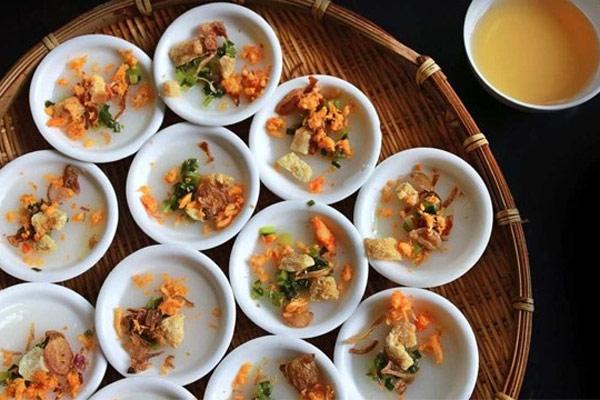 Bánh bèo nước cốt dừa
