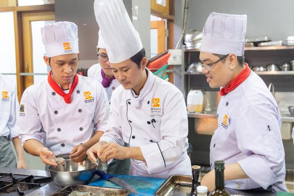 Sau khi học đầu bếp, bạn thu lại gì