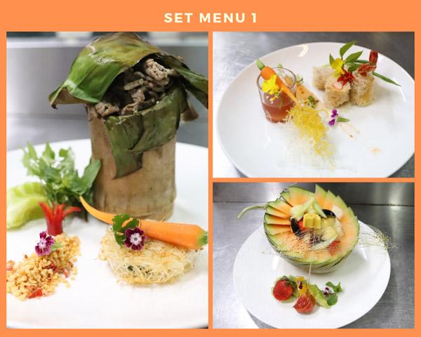 Set menu 1