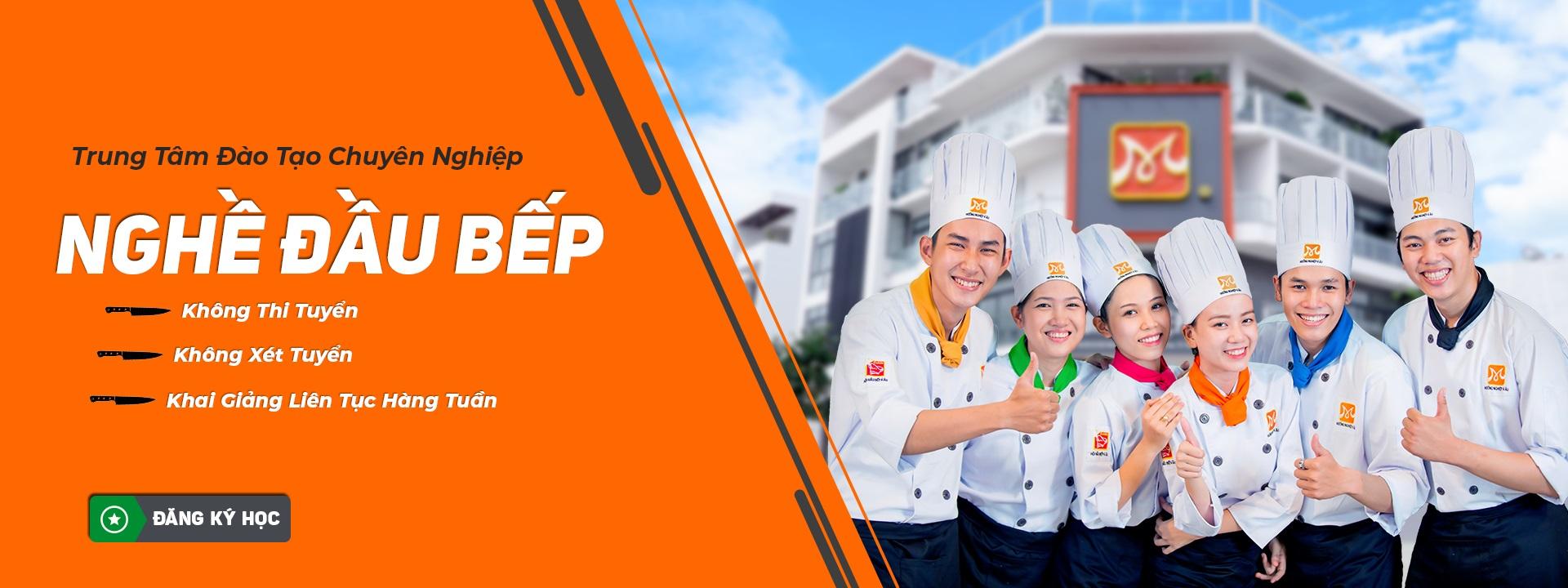 trung tâm đào tạo nghề đầu bếp