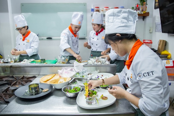 Học nghề để trở thành đầu bếp