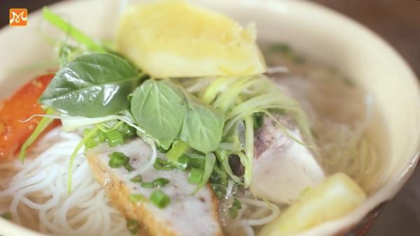 Bún chả cá Nha Trang  thơm ngon