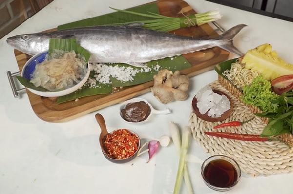 Nguyên liệu nấu bún chả cá