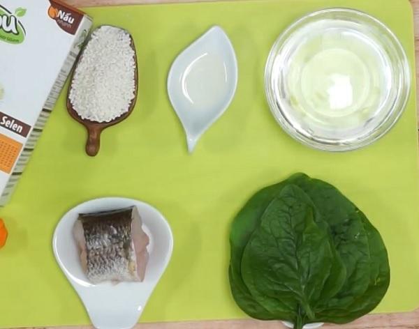 Nguyên liệu nấu cháo cá lóc