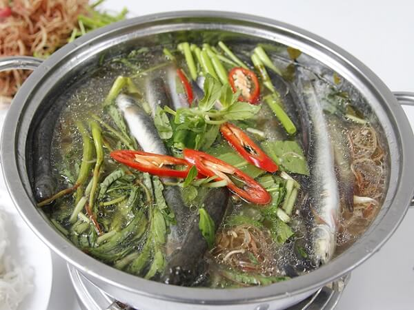 Lẩu cá kèo có hương vị thơm ngon