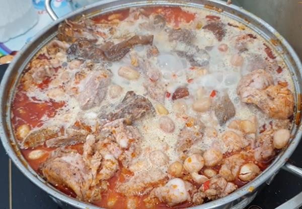 Món thịt thỏ giả cầy thơm ngon